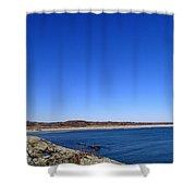 Sachusett Beach 4 Shower Curtain