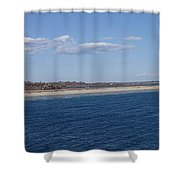 Sachusett Beach Shower Curtain