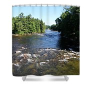 Saco Riverscape Conway Nh Shower Curtain