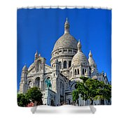 Sacre Coeur Basilica Shower Curtain