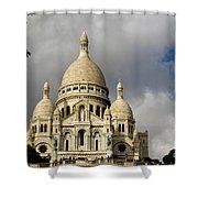 Sacre-coeur Shower Curtain