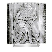 Sacred Bali Shower Curtain