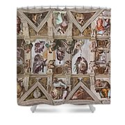 Sacred Ceiling Shower Curtain