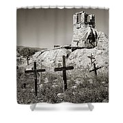 Sacred Cross Shower Curtain