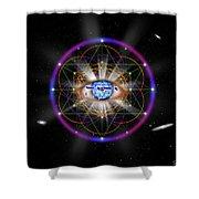 Sacred Geometry 100 Shower Curtain