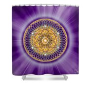 Sacred Geometry 139 Shower Curtain