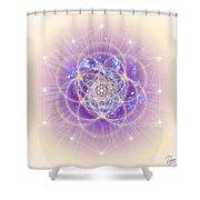 Sacred Geometry 140 Shower Curtain