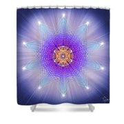 Sacred Geometry 144 Shower Curtain