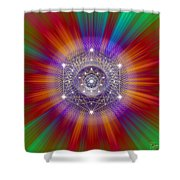 Sacred Geometry 147 Shower Curtain