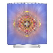 Sacred Geometry 156 Shower Curtain