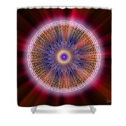 Sacred Geometry 176 Shower Curtain