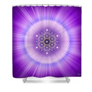 Sacred Geometry 185 Shower Curtain