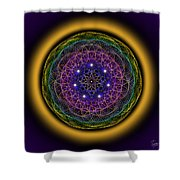 Sacred Geometry 202 Shower Curtain