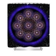Sacred Geometry 218 Shower Curtain
