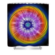 Sacred Geometry 244 Shower Curtain