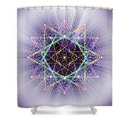 Sacred Geometry 245 Shower Curtain