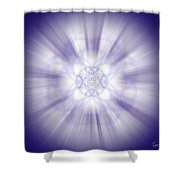 Sacred Geometry 266 Shower Curtain
