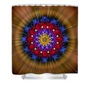 Sacred Geometry 296 Shower Curtain