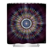 Sacred Geometry 317 Shower Curtain