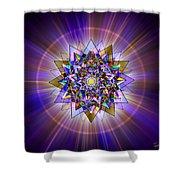 Sacred Geometry 386 Shower Curtain