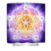 Sacred Geometry 67 Shower Curtain