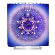Sacred Geometry 69 Shower Curtain