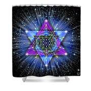 Sacred Geometry 70 Shower Curtain