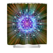 Sacred Geometry 72 Shower Curtain