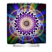 Sacred Geometry 74 Shower Curtain
