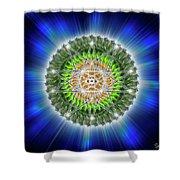 Sacred Geometry 75 Shower Curtain