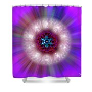 Sacred Geometry 76 Shower Curtain