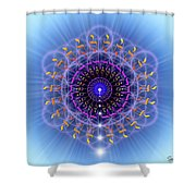 Sacred Geometry 78 Shower Curtain