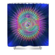 Sacred Geometry 87 Shower Curtain