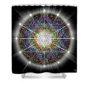 Sacred Geometry 89 Shower Curtain