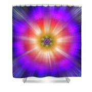 Sacred Geometry 90 Shower Curtain