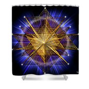 Sacred Geometry 91 Shower Curtain