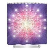 Sacred Geometry 92 Shower Curtain