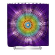 Sacred Geometry 96 Shower Curtain
