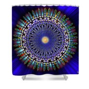 Sacred Geometry 97 Shower Curtain