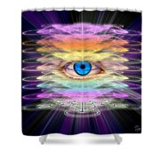 Sacred Geometry 98 Shower Curtain