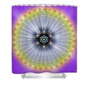 Sacred Geometry 99 Shower Curtain