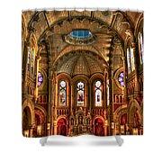 Sacred Heart Cultural Center Shower Curtain