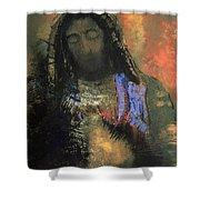 Sacred Heart Shower Curtain