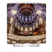 Sacred Heart Sanctuary Shower Curtain