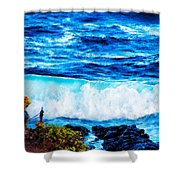 Sacred Place Shower Curtain