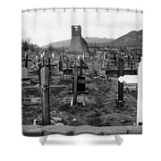 Sacred Places Shower Curtain