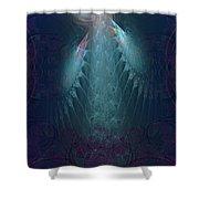 Sad Angel Shower Curtain