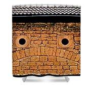 Toad Garage Shower Curtain