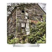 Saddle Store 2 Of 3 Shower Curtain by Jason Politte