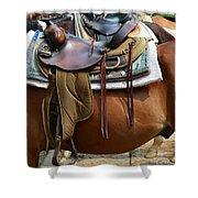 Saddle Up Partner Shower Curtain